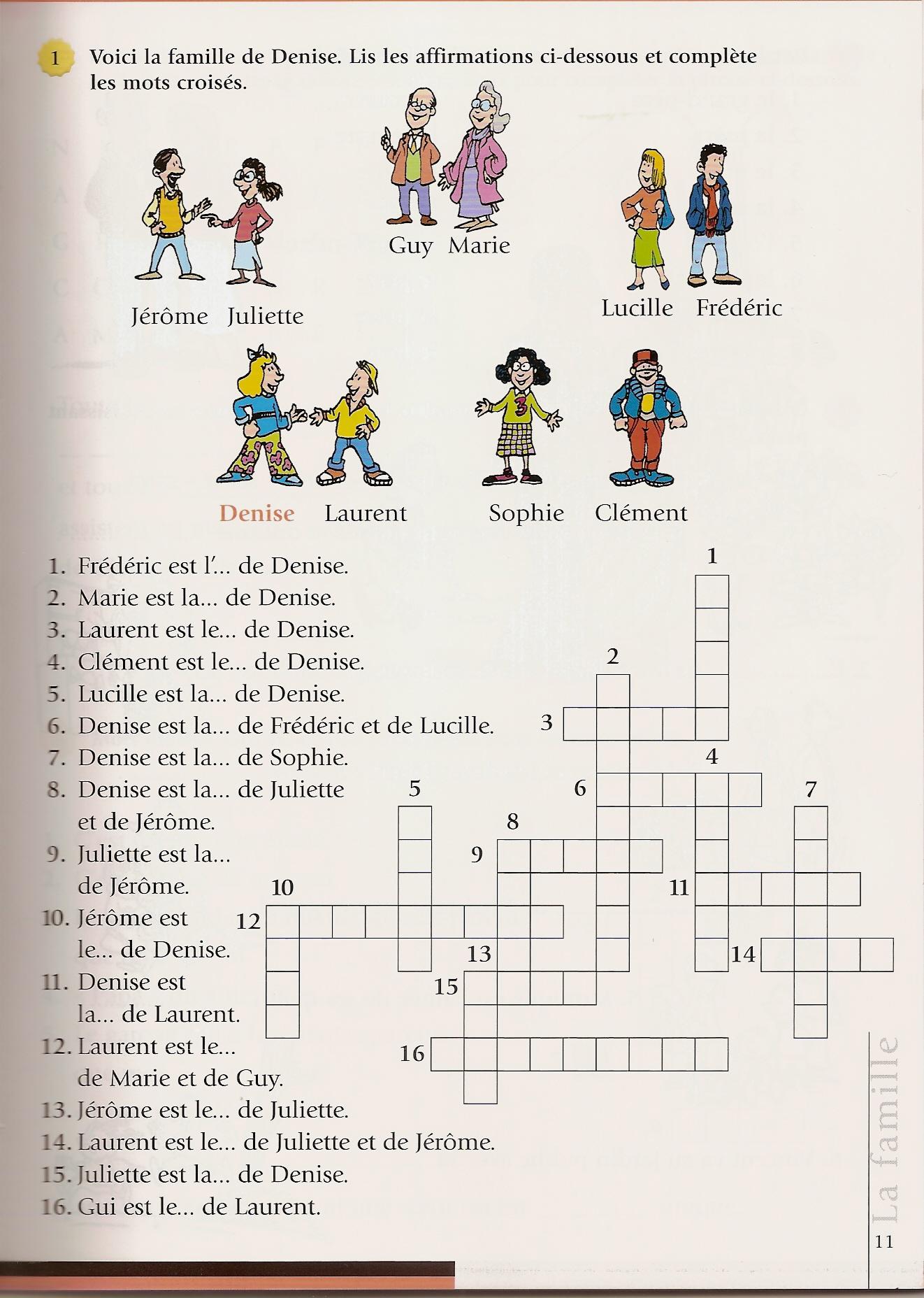 1000 images about fle lexique de la famille on pinterest for Anglais vocabulaire maison