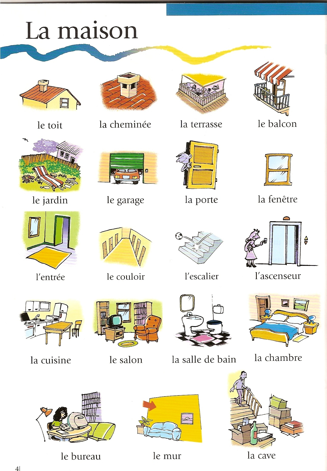 2 eso for What does chambre mean in french
